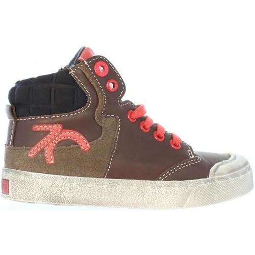 Chaussures Enfant Baskets montantes Kickers 508900-10 CUMMIN Marrón