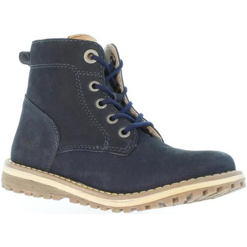 Chaussures Enfant Bottes ville Kickers 511860-30 LUCIO Azul