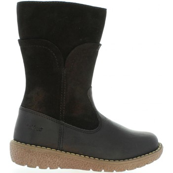 Chaussures Fille Bottes ville Kickers 509700-30 UZOLA Negro