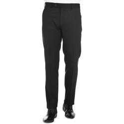 Vêtements Homme Chinos / Carrots Jerem Pantalon en serge de laine Bi-stretch Noir NO02