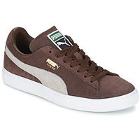 Baskets basses Puma SUEDE.BROWN/SESAME