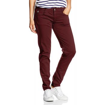 667d931969 Vêtements Femme Jeans slim Le Temps des Cerises Jean 316 Basic Bordeaux 8