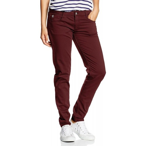 Jeans Le Temps des Cerises Jean  316 Basic Bordeaux Rouge 350x350