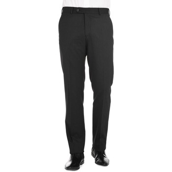 Vêtements Homme Chinos / Carrots Jerem Pantalon en serge de laine bi-stretch Anthracite AN12