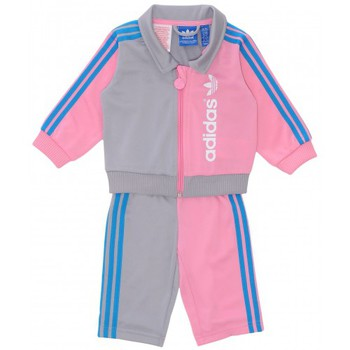 Vêtements Garçon Ensembles enfant adidas Originals Ensemble  I Fun Firebird Bb Rose