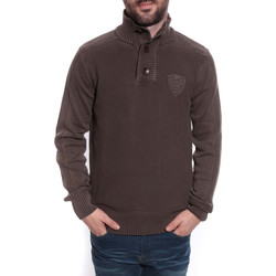 Vêtements Homme Pulls Ritchie PULL LIMAX Marron