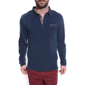 Vêtements Homme T-shirts & Polos Ritchie POLO PYLOVER Bleu