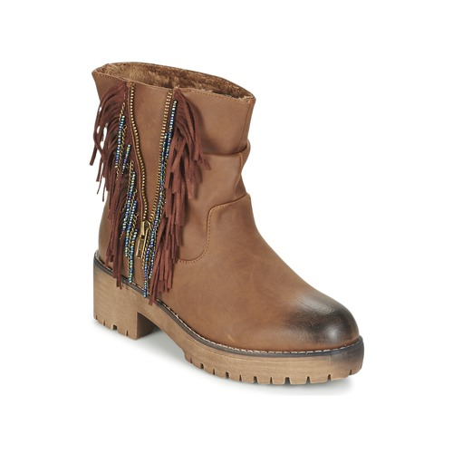 Coolway BARINA Camel  - Chaussures Boot Femme