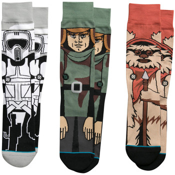 Accessoires Homme Chaussettes Stance Star Wars Return Of The Jedi Black