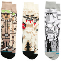 Accessoires Homme Chaussettes Stance Star Wars Empire Strikes Back Black