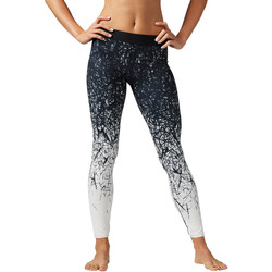 Vêtements Femme Leggings Reebok Sport Collants Cardio Spike Blanc