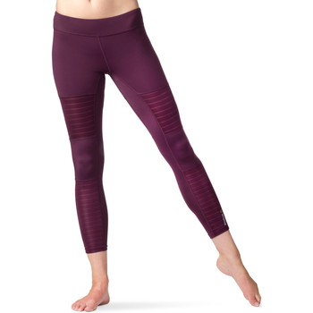 Vêtements Femme Leggings Reebok Sport Collants Dance Mesh Purple