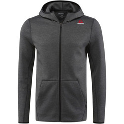 Vêtements Homme Sweats Reebok Sport Sweat à capuche zippé Quik Cotton Gris