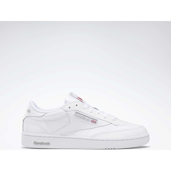 Chaussures Homme Baskets basses Reebok Classic Club C 85 Blanc / Gris