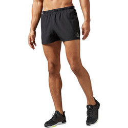 Vêtements Homme Shorts / Bermudas Reebok Sport Short Running Essentials Split - 7,5 cm Noir