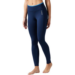 Vêtements Femme Leggings Reebok Sport Collants Workout Ready Bleu / Bleu