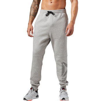 Vêtements Homme Pantalons de survêtement Reebok Sport Pantalon coton Workout Ready Big Logo Gris