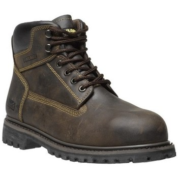 Chaussures Homme Boots Parade CHAUSSURES DE SECURITE TRUCK Marron