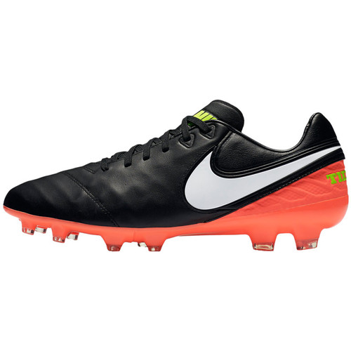 Chaussures Homme Football Nike Tiempo Legacy II FG Schwarz