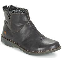 Chaussures Femme Boots Art BERGEN Noir