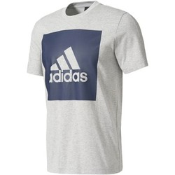 Vêtements Homme T-shirts manches courtes Adidas Athletics T-shirt Essentials Box Logo Gris