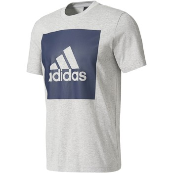 Vêtements Homme T-shirts manches courtes adidas Performance T-shirt Essentials Box Logo Gris