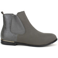 Bottines Cendriyon Bottines Gris Chaussures Femme,