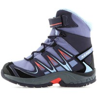 Chaussures Enfant Baskets montantes Salomon XA Pro 3D Winter TS Cswp K Gris-Violet