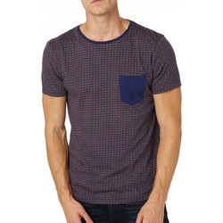Vêtements Homme T-shirts manches courtes Tom Tailor T-Shirt  Minimal Allover Printed