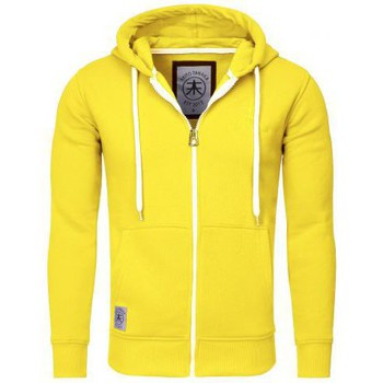 Sweat-shirt Akito Tanaka Sweat Zippé Hoody Zip Jaune