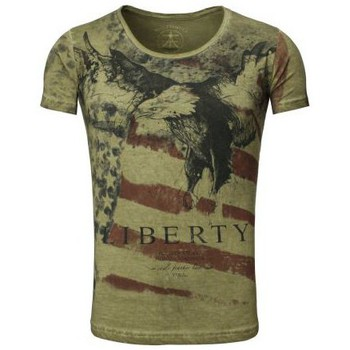 Vêtements Homme T-shirts manches courtes Akito Tanaka T-Shirt  Eagle USA Olive Olive