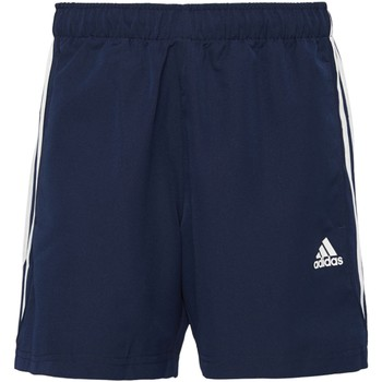 Vêtements Homme Shorts / Bermudas Adidas Athletics Short 3 bandes Chelsea Sport Essentials Bleu Foncé / Blanc
