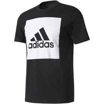 Vêtements Homme T-shirts manches courtes Adidas Athletics T-shirt Essentials Box Logo Noir