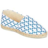 Chaussures Femme Espadrilles Maiett KIMONO Blanc / Bleu