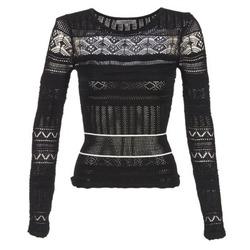Vêtements Femme Pulls Morgan MARAI Noir