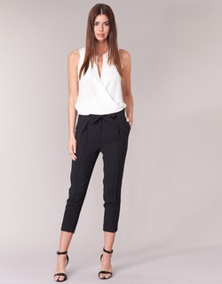 Vêtements Femme Pantalons fluides / Sarouels Morgan LIKI Noir