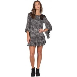 Robes courtes Volcom Robe  Whiskey Mtn Dress - Black