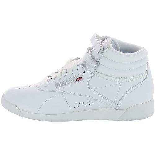 Chaussures Femme Baskets montantes Reebok Sport Freestyle Hi - Ref. 2431 Blanc