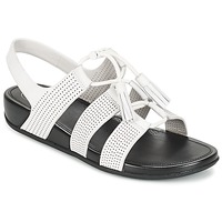 Chaussures Femme Sandales et Nu-pieds FitFlop GLADDIE LACEUP SANDAL Blanc