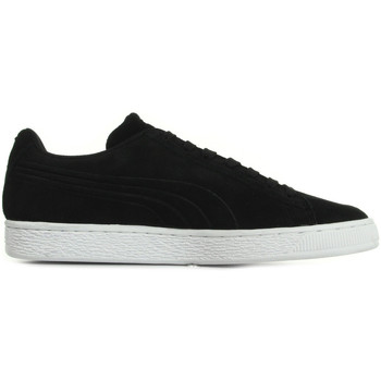 Chaussures Baskets mode Puma Suede Classic Debossed noir