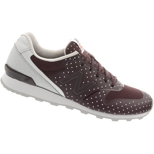 Chaussures Femme Baskets basses New Balance WR996KC Bordeaux-Blanc
