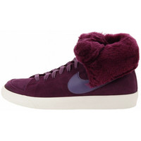 Chaussures Femme Baskets montantes Nike Basket  Blazer High Roll - Ref. 538254-600 Bordeaux