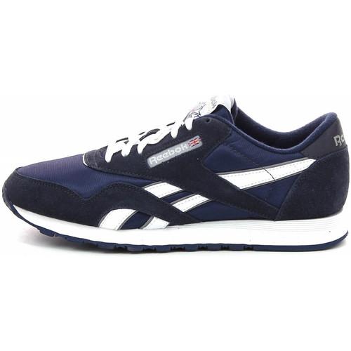 Chaussures Homme Baskets basses Reebok Sport Classic Nylon - Ref. 39749 Bleu