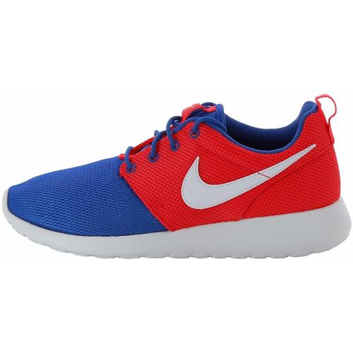 Chaussures Enfant Baskets basses Nike Roshe Run Max Junior - Ref. 599728-404 Bleu