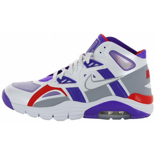 Chaussures Homme Baskets montantes Nike Air Trainer SC Lunar 180 - Ref. 630922-100 Blanc