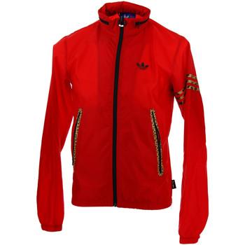 Vêtements Homme Vestes de survêtement adidas Originals Veste de survêtement  Windbreaker Leopard - Ref. F81879 Rouge