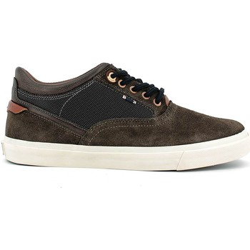 Chaussures Homme Baskets basses Wrangler WM162111 Chaussures lacets Man Dark brown Dark brown