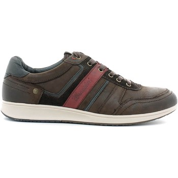 Chaussures Homme Baskets basses Wrangler WM162151 Sneakers Man Dark brown