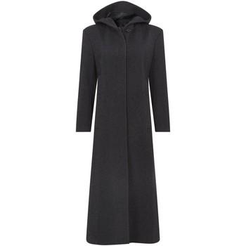 Vêtements Femme Manteaux De La Creme D`Hiver Cashmere Lans Manteaux Capauche Grey