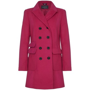 Vêtements Femme Trenchs Anastasia -  Femmes Rosa Military WinterManteux Pink